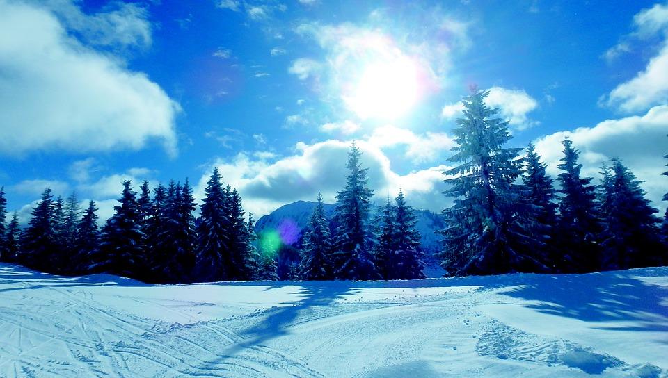 HITトップスライダー雪山
